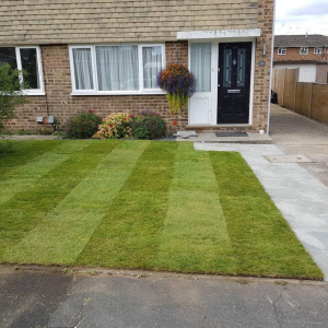 Front Garden Makeover completed Tongham
