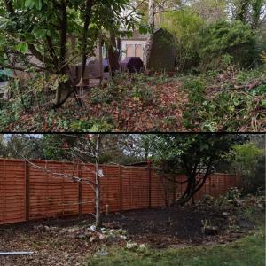 Back Garden Makeover Farnborough