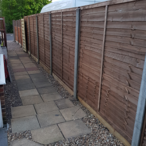 replaced for new Fencing and Gate in Fleet